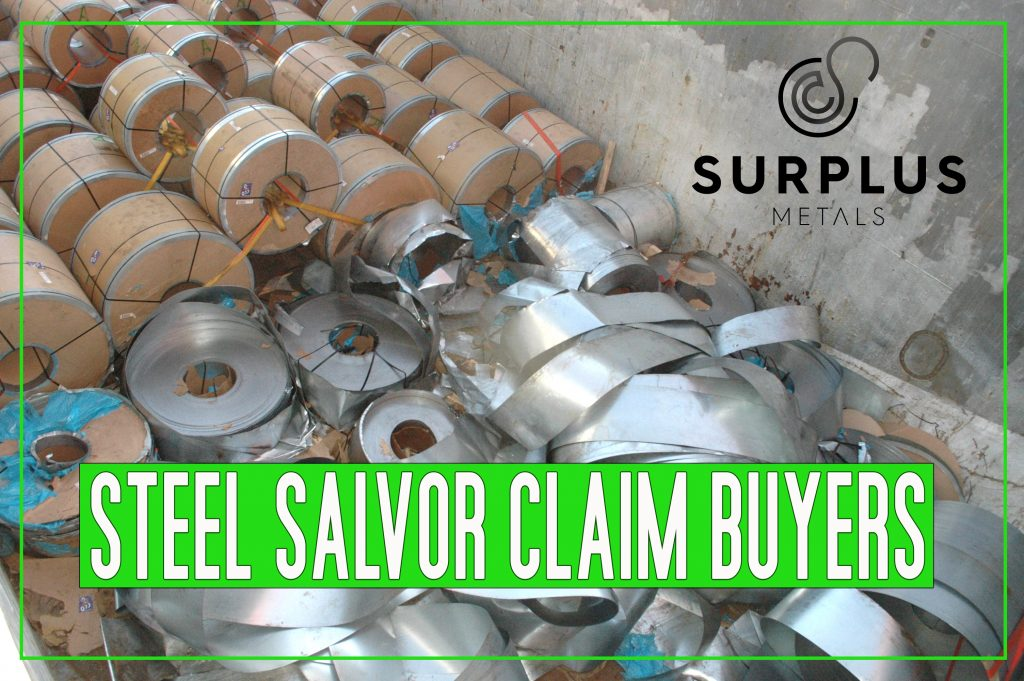 We Buy steel coil insurance claims